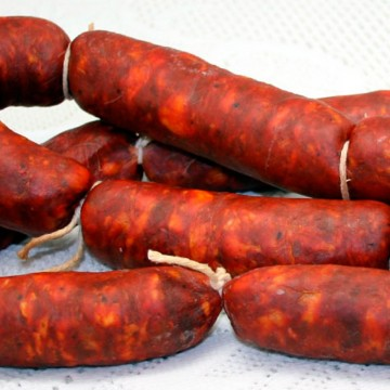 "Chorizo Semicurado Extra ""Villafuertes"""