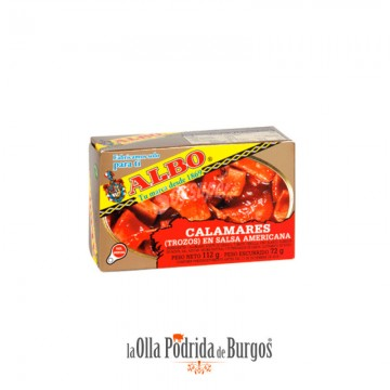 Calamares en salsa americana Albo