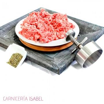 Carne picada de ternera 500g