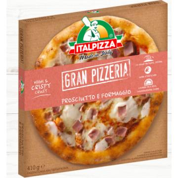 Pizzas Artesanales de Estilo Napolitano sabor Prosciutto e Formaggio -Italpizza