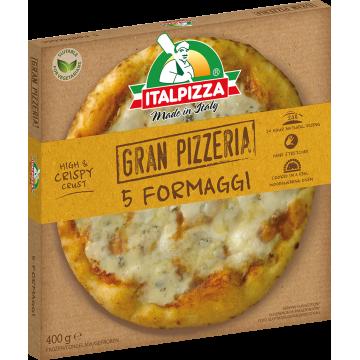 Pizzas Artesanales de Estilo Napolitano sabor 5 Formaggi -Italpizza