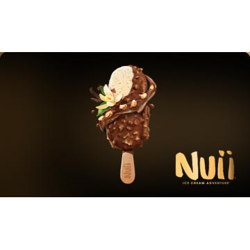 Caja de Helados Nuii Almendrado con Vainilla de Java (20Uds) - NESTLE