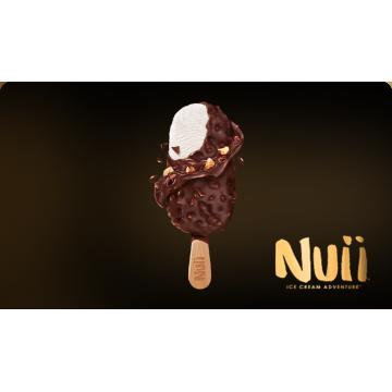 Caja de Helados Nui Nata y chocolate negro con almendras de California (20Uds) - NESTLE