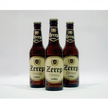 Cerveza Artesanal Zerep Rubia c-24 uds