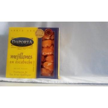 Mejillones en escabeche Rías Gallegas 45/55 Daporta RO550