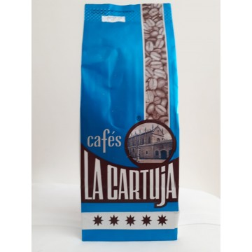 CAFES LA CARTUJA Café en grano descafeinado 2 kg