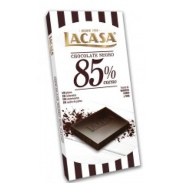 LACASA TABLETA CHOCOLATE 85% CACAO