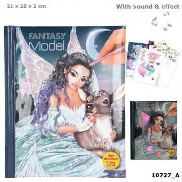 libro colorear con luz y música
