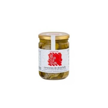 Almanaque Corazones de Alcachofa en aceite de Oliva 10/12