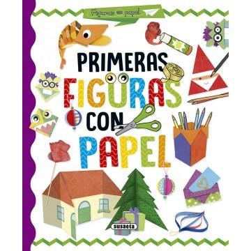 LIBRO MANUALIDADES. PRIMERAS FIGURAS DE PAPEL