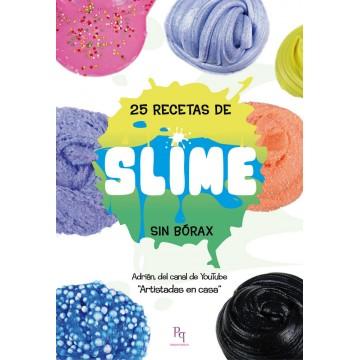 LIBRO MANUALIDADES. 25 RECETAS DE SLIME