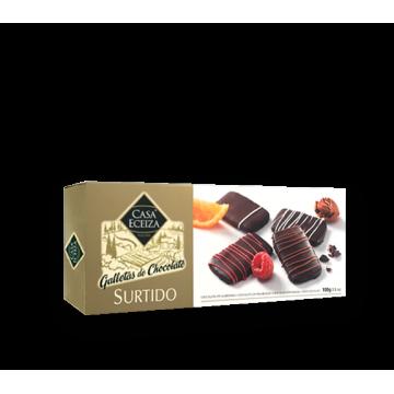 SURTIDO GALLETAS DE CHOCOLATE 100 gr./ud.