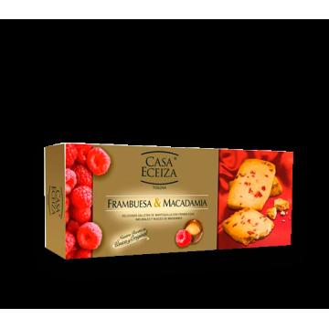 GALLETAS DE FRAMBUESA Y MACADAMIA 100 gr./ud