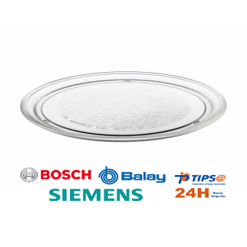 PLATO MICROONDAS LG BALAY BOSCH SIEMENS 00440692 440692 DIAMETRO 245mm