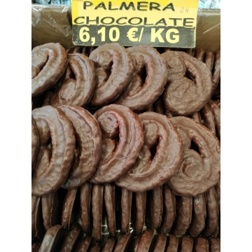 HOJALDRE PALMERITA DE CHOCOLATE, BOLSA DE 1/2 KG