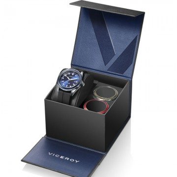PACK RELOJ VICEROY HOMBRE DESING 401199-37