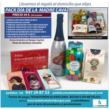 PACK DIA DE LA MADRE CAVA