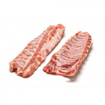 Costillas de cerdo Bandeja de 1.000gr. Entero