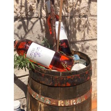 Botella Rosado Gotas de Rocío