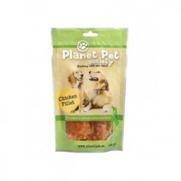 Planet Pet Snack Filetes De Pollo 100gr