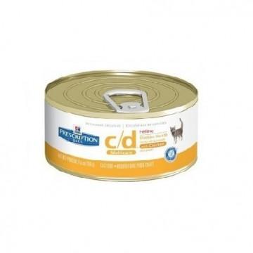 Hills Diet Feline C/d (lata) (24x156 Gr)