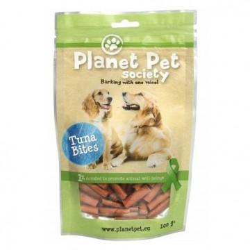 Planet Pet Snack Bites Atun 100g