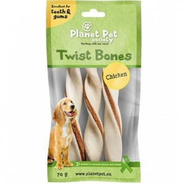Planet Pet Rollito Dental Pollo 3 Uds. 70gr