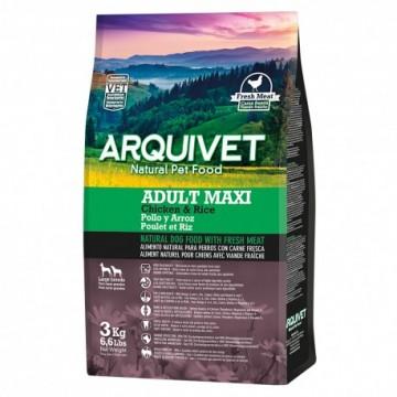 Arquivet Dog Adult Maxi / Pollo Y Arroz 3 Kg