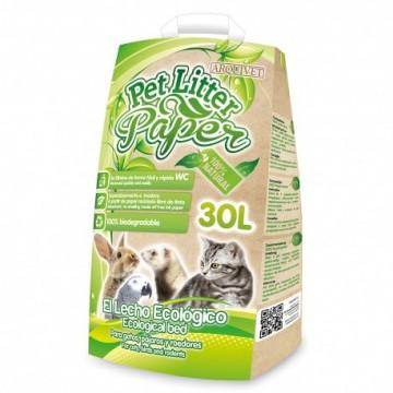 Arquivet Pet Litter Paper 30 Litros  (9 Kg)