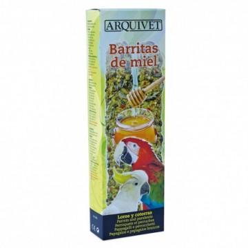 Arquivet Barritas De Miel Para Loros Y Cotorras
