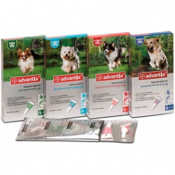 Advantix Bayer (importado Legalizado)  4p 1- 4 Kg