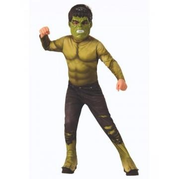 Disfraz infantil Hulk Marvel.