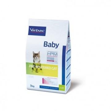 Baby pre neutered cat 1,5 kg hpm