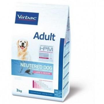 Adult neut. dog 3 kg large & medium hpm