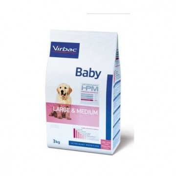 Baby dog large & medium 7 kg hpm