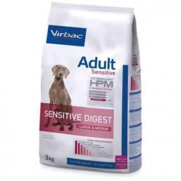 Sensitive digest large&med 3 kg adult dog hpm