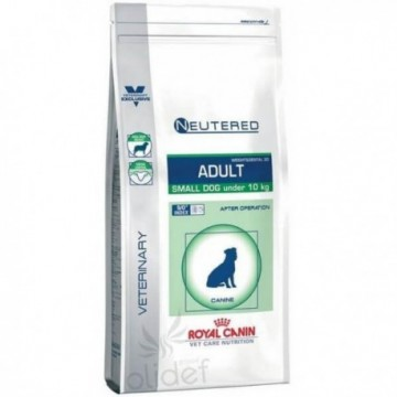 Vcn neutered adult small dog 800 gr