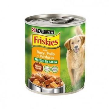 Friskies perro húmedo buey/pollo  12 x 800g
