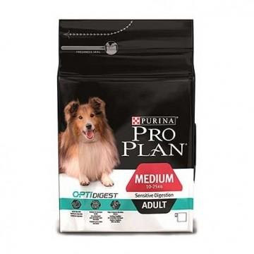 Proplan canine  adult medium  digest cordero 3 kg