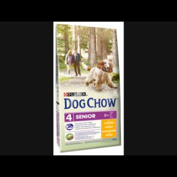 Dog chow senior pollo 14 kg xe