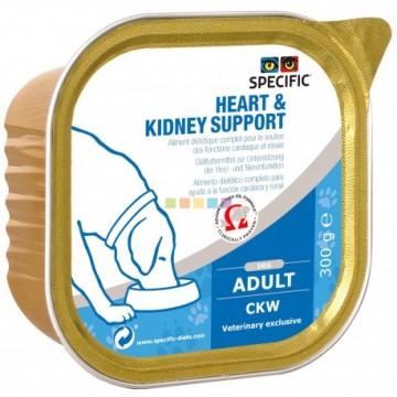Ckw heart & kidney support 6x300 gr tarrina