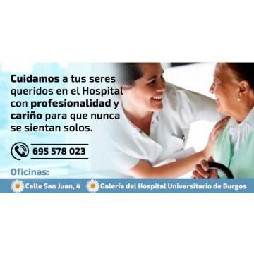 Cuidamos a tus seres queridos en el hospital
