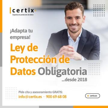 Adaptación en Protección de datos de su negocio