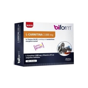 L-CARNITINA 2000 mg-14 Viales