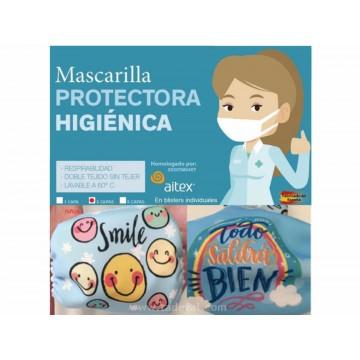 MASCARILLA INFANTIL REUTILIZABLE 3 CAPAS