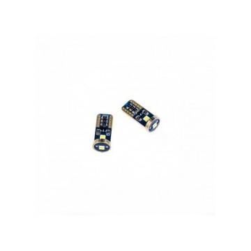 Bombilla Led 2 Uds W5W T10 3 SMD OSRAM LED 3030 CANBUS