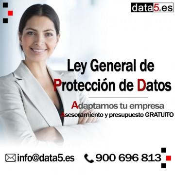 Empresa 1-5 empleados - Adaptación de Protección de Datos