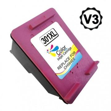 HP 301XL V3 TRICOLOR CARTUCHO DE TINTA REMANUFACTURADO