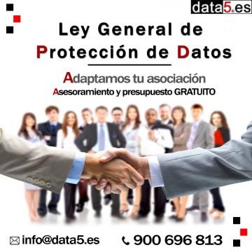 Data5 - Asociaciones - Adaptación de protección de Datos