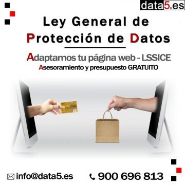 data5 - Página web/LSSICE - Adaptación de Proteccion de Datos